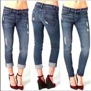 7 FOR ALL MANKIND Josepina Boyfriend Jeans 24/25